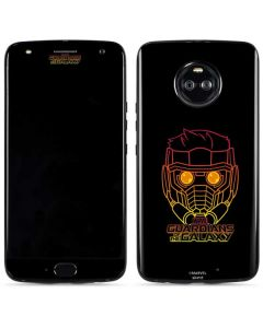 Star-Lord Outline Moto X4 Skin