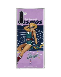 Stargirl- Field Guide to Cosmos Galaxy Note 10 Clear Case