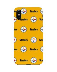 Pittsburgh Steelers Blitz Series iPhone XS Max Lite Case