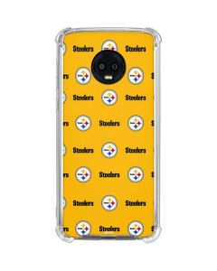 Pittsburgh Steelers Blitz Series Moto G6 Clear Case