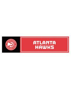"NBA Atlanta Hawks 11"" x 3"" Bumper Sticker"