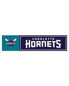 """NBA Charlotte Hornets 11"""" x 3"""" Bumper Sticker"""
