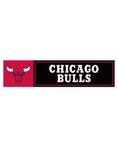 "NBA Chicago Bulls 11"" x 3"" Bumper Sticker"