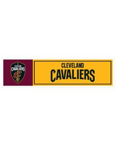 "NBA Cleveland Cavaliers 11"" x 3"" Bumper Sticker"