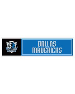 "NBA Dallas Mavericks 11"" x 3"" Bumper Sticker"