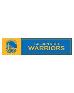 "NBA Golden State Warriors 11"" x 3"" Bumper Sticker"