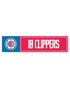 "NBA Los Angeles Clippers 11"" x 3"" Bumper Sticker"