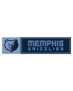 "NBA Memphis Grizzlies 11"" x 3"" Bumper Sticker"
