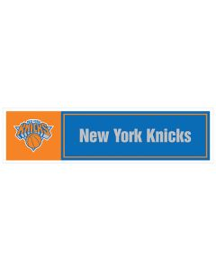 "NBA New York Knicks 11"" x 3"" Bumper Sticker"