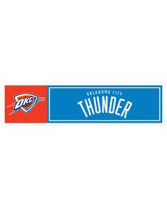 "NBA Oklahoma City Thunder 11"" x 3"" Bumper Sticker"