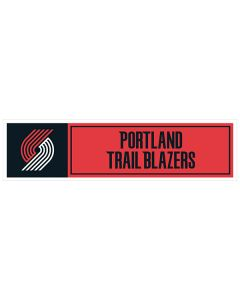 "NBA Portland Trail Blazers 11"" x 3"" Bumper Sticker"