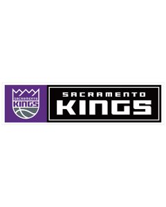 "NBA Sacramento Kings 11"" x 3"" Bumper Sticker"
