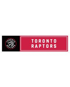 "NBA Toronto Raptors 11"" x 3"" Bumper Sticker"