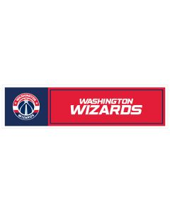 "NBA Washington Wizards 11"" x 3"" Bumper Sticker"