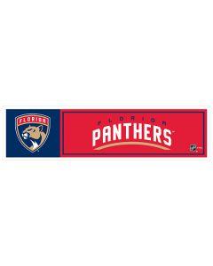 "NHL Florida Panthers 11"" x 3"" Bumper Sticker"