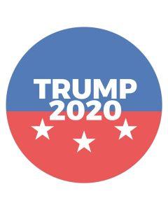 "Trump 2020 4"" x 4"" Bumper Sticker"