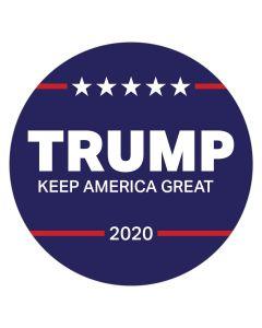 "Trump Keep America Great 4"" x 4"" Bumper Sticker"