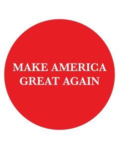 """Make America Great Again 4"""" x 4"""" Bumper Sticker"""