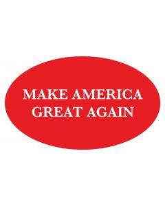 """Make America Great Again 5"""" x 3"""" Bumper Sticker"""