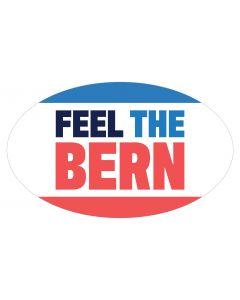"Feel The Bern 5"" x 3"" Bumper Sticker"