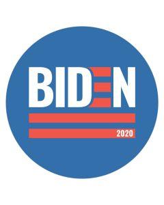 """Biden 2020 4"""" x 4"""" Bumper Sticker"""