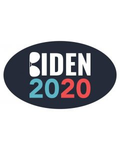 "Biden 2020 Sunglasses 5"" x 3"" Bumper Sticker"