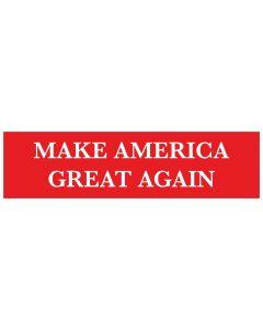 """Make America Great Again 11"""" x 3"""" Bumper Sticker"""