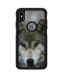 Stoic Gray Wolf Otterbox Commuter iPhone Skin