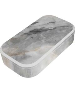 Stone Taupe UV Phone Sanitizer and Wireless Charger Skin