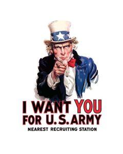 Uncle Sam Vintage War Poster Generic Laptop Skin