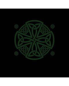 Celtic Cross on Black Generic Laptop Skin