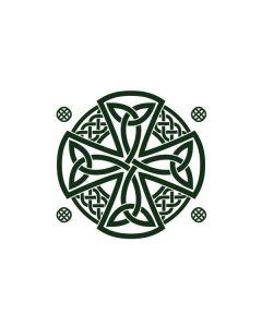 Celtic Cross on White iPhone 6/6s Plus Skin