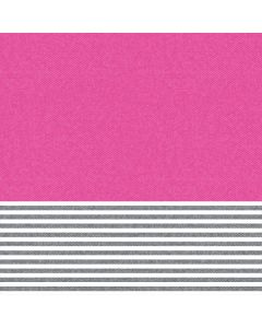 Pink and Grey Stripes Apple TV Skin