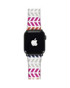 Striped Chevron Apple Watch Band 42-44mm