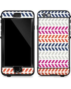 Striped Chevron LifeProof Nuud iPhone Skin