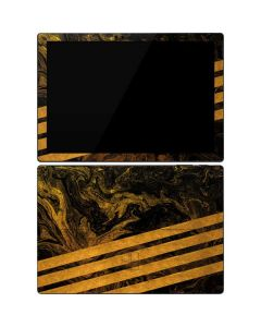Striped Marble Surface Pro 7 Skin