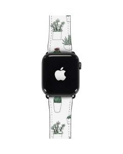 Succulent Pattern Apple Watch Band 38-40mm