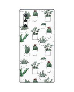 Succulent Pattern Galaxy Note 10 Skin