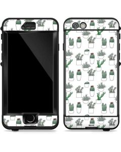 Succulent Pattern LifeProof Nuud iPhone Skin