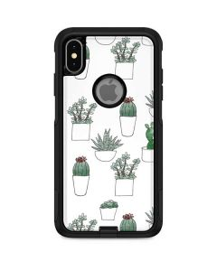 Succulent Pattern Otterbox Commuter iPhone Skin
