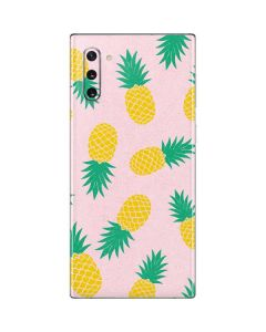 Summer Pineapples Galaxy Note 10 Skin