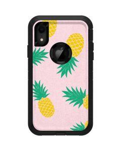 Summer Pineapples Otterbox Defender iPhone Skin