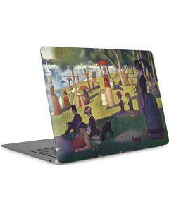 Sunday Afternoon on the Island of La Grande Jatte Apple MacBook Air Skin