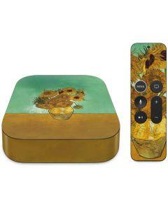 Sunflowers 1888 Apple TV Skin
