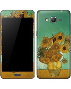 Sunflowers 1888 Galaxy Grand Prime Skin