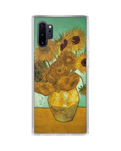 Sunflowers 1888 Galaxy Note 10 Plus Clear Case