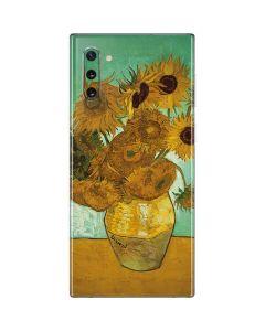 Sunflowers 1888 Galaxy Note 10 Skin
