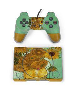 Sunflowers 1888 PlayStation Classic Bundle Skin
