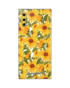 Sunflowers Galaxy Note 10 Skin