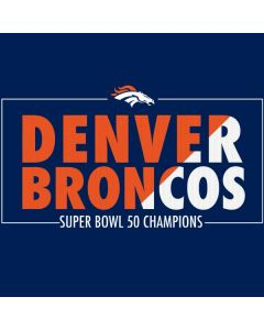 Denver Broncos Super Bowl 50 Champions Bold HP Pavilion Skin